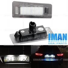 Hyundai Elantra License Plate Light Replacement 2 X Error Free Led Number License Plate Light Lamp For