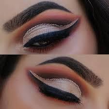 eyebrows dark brown clear brow gel eyes 350 palette eyeliner black eye