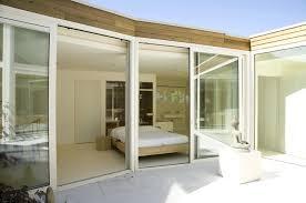 glass wall bedroominterior design ideas