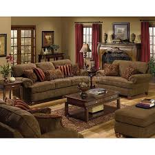 Abbyson London Top Grain Leather 2 Piece Living Room Set  Free Living Rooms Set