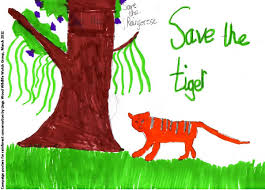 lings wood wildlife watch group northampton uk world land trust campaign poster for rainforest conservation saved