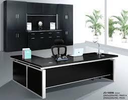 black office table image black glass office desk homebase