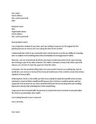 Letter Of Support To Local Official