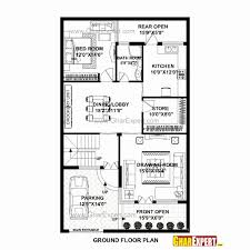 attractive best 20x60 house plan 20 x 60 house plans east facing house plans