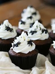 halloween spider cupcakes. Exellent Spider Creepy Halloween Spider Cupcakes Intended T