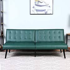 new futon sofa bed bonzy home pu