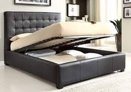ikea platform bed design ideas cool bedroom furniture design with dark brown leather bed frame brown leather bedroom furniture
