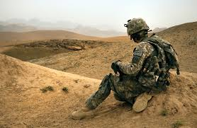u s department of defense photo essay  a ier takes a quick break from walking during a dismounted patrol near combat outpost mizan