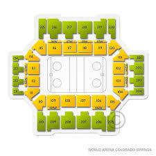 Broadmoor Arena Seating Chart Miami Redhawks At Colorado College Tigers Hockey Sat Jan