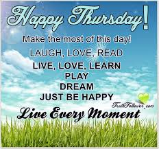 Thursday Quotes Custom Happy Thursday Quote Pictures Photos And Images For Facebook