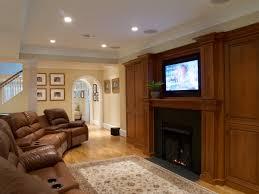 finished basement lighting. Fireplace Finished Basement Lighting
