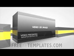 After Effect Presentation Template Free