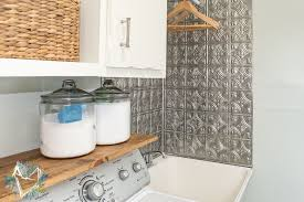 Utility Sink Backsplash Remodelling