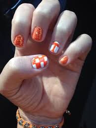 Tennessee Football Nail Designs Because When Youre A Vol Youre A Vfl Gel Nails By Lora