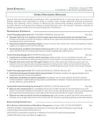sterile processing resume sample this free sample was provided by sterile  processing supervisor resume sample . sterile processing resume sample ...