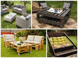 Wood Pallet Outdoor Furniture  EpanowPallet Furniture For Outdoors
