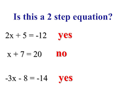 4 is this a 2 step equation