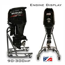 Engine Display Stand Stunning Outboard Engine Display 32 To 32 HP Models