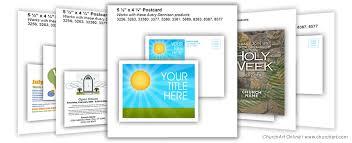 Avery 8383 Christian Postcard Templates Churchart Online