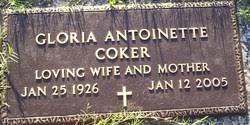 Gloria Antoinette Croker Coker (1926-2005) - Find A Grave Memorial