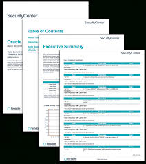 It Audit Report Template Stunning Oracle Audit Results Sc Report Template Tenable™ Myfountainonline