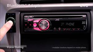 jvc mobile car audio receiver bluetooth r adapter