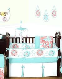 turquoise and pink baby bedding girl baby bedding set fl c and turquoise baby girl crib