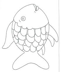 rainbow fish coloring page pages of s free new sea printable rainbow fish coloring page