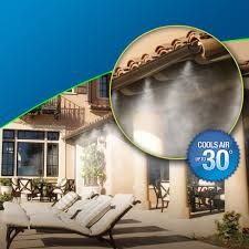 patio systems patiohead best outdoor misting systems mist cooling blog