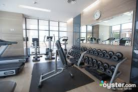 fitness center at the radisson blu residence dubai marina