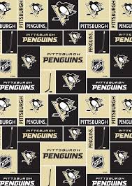 Pittsburgh Penguins Fleece Fabric -Block | Products | Pittsburgh ...