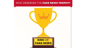 'fake Trump To Asks Supporters Help Thehill Award News Trophy ' w77vXHq