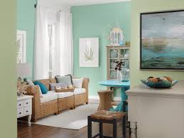 Coastal Living Room Mint Cream Accents Giving Beach Into Your Home Breezy  Decor