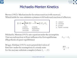 linear velocity equation systems biology 2