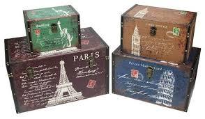 Decorative Vintage Storage Boxes