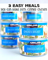 easy meals you can make with canned en