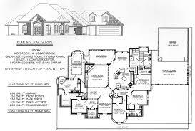 3 Car Garage House Plans House Plan W3832 Detail From Four Car Garage House Plans