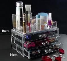 cosmetic organizer acrylic makeup case drawer lipstick holder 82263777032495 jpg