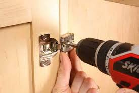 cabinet hinges installed. How To Install And Adjust Euro-Style Cabinet Hinges Installed K