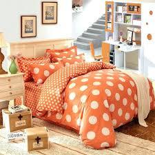orange comforter set