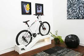Bicycle Furniture Manuel Roseels Zany New Furniture Doubles As A Bike Rack