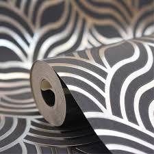 on silver art deco wallpaper uk with muriva art deco silver blue metallic wallpaper 601535