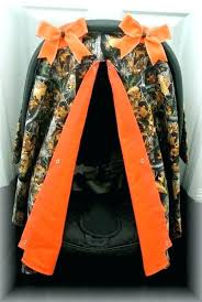 camouflage baby car seat camo canopies canopy car seat cover orange polka dot bow baby car