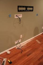 hiding flat screen tv cables with powerbridge: http://www.amazon.