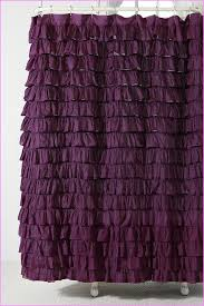 our gallery of purple ruffled shower curtain contemporary design ruffle shower curtain