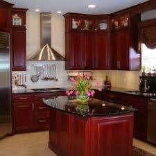 cherry kitchen cabinets black granite. kitchen appealing cherry cabinets black granite countertops with roselawnlutheran unbelievable design h