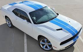 dodge challenger 2015 white. 2015 white challenger with blue stripes dodge