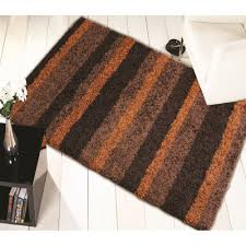nordic channel orange brown rug