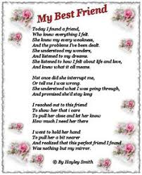 Best Friend Poems on Pinterest | Friendship Poems, Sister Poems ...