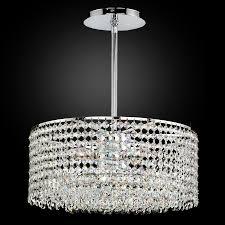 round crystal chandelier pendant chandelier urban essentials 595em15sp 3